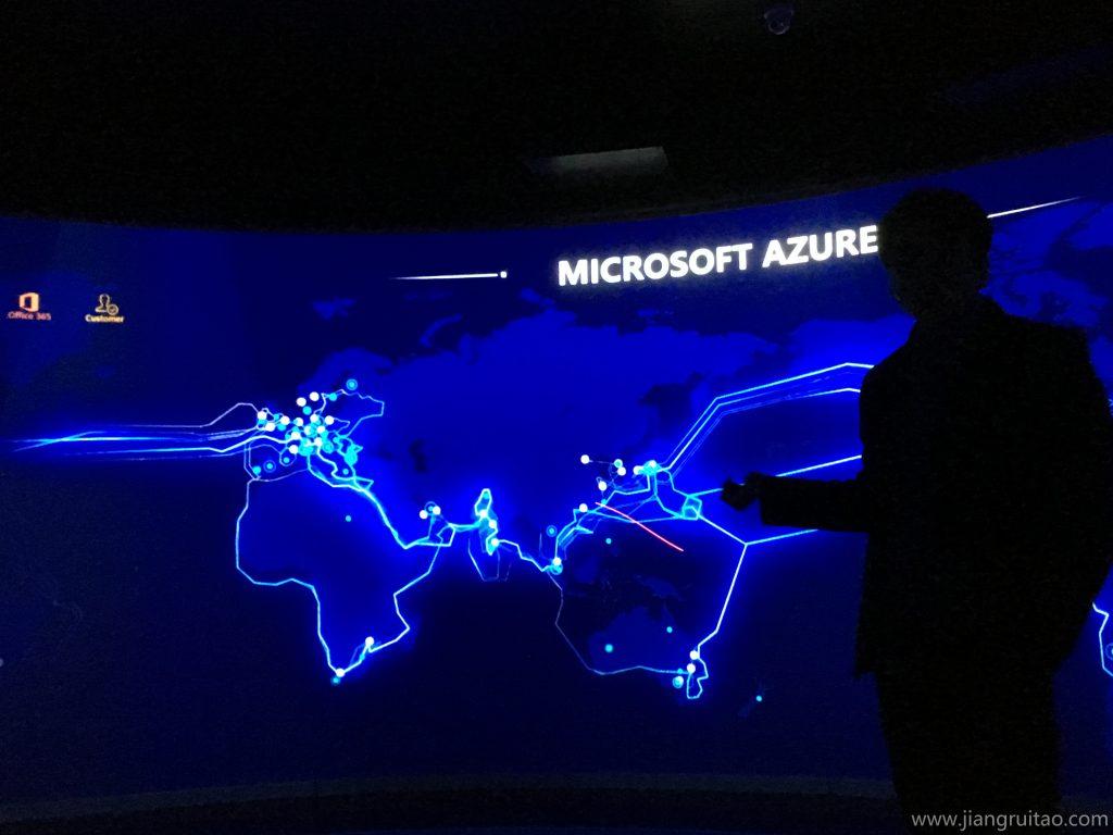 微软亚洲研究院参观 亚太研发