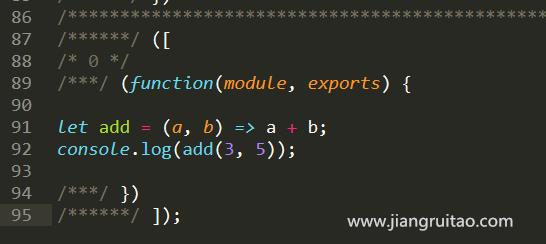 babel-loader转换 Webpack教程 姜瑞涛的官方网站